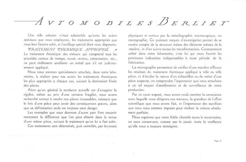 Pub , catalogues et livres sur BERLIET Berlie30