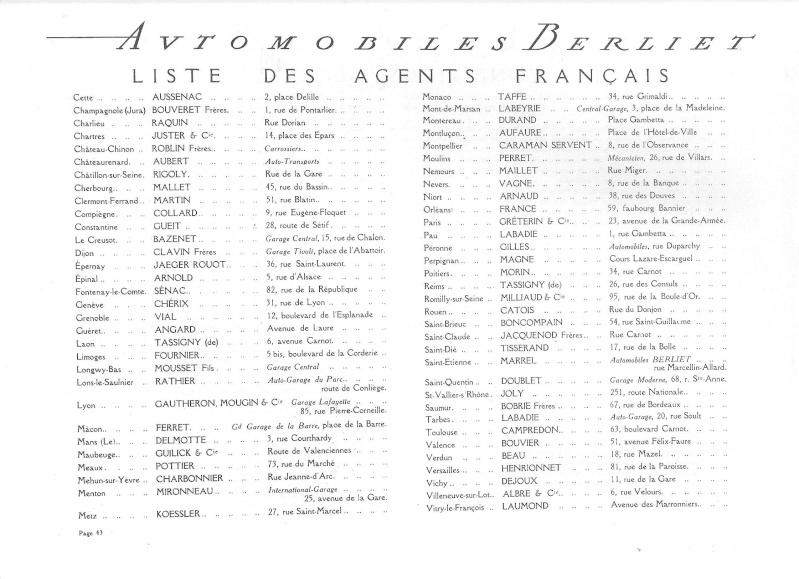 Pub , catalogues et livres sur BERLIET Berlie60