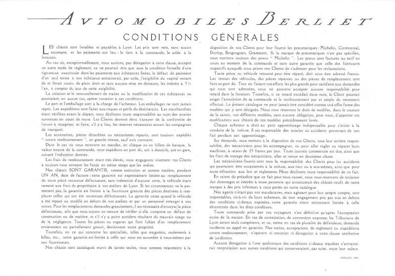 Pub , catalogues et livres sur BERLIET Berlie61