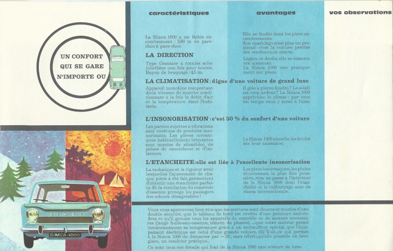 Pub et catalogues  CHRYSLER ,MATRA , SIMCA et TALBOT Simca_15