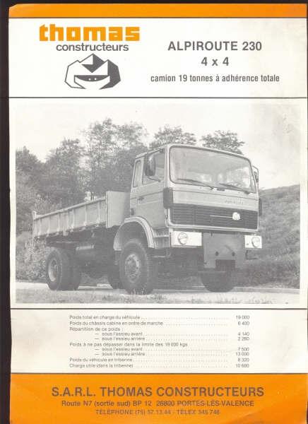 Pub et catalogues THOMAS Thomas11