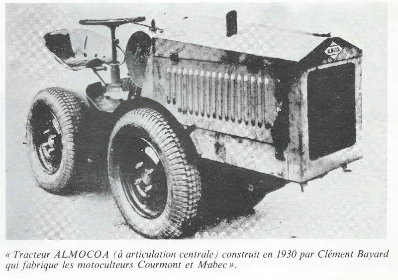 TRACTEUR - ALMACOA....le 1er tracteur 4x4 de petite taille Tracte20