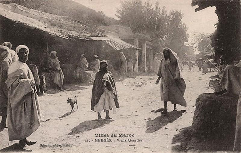 Meknès, La Ville Ancienne et les 2 Mellahs 2 281_0010