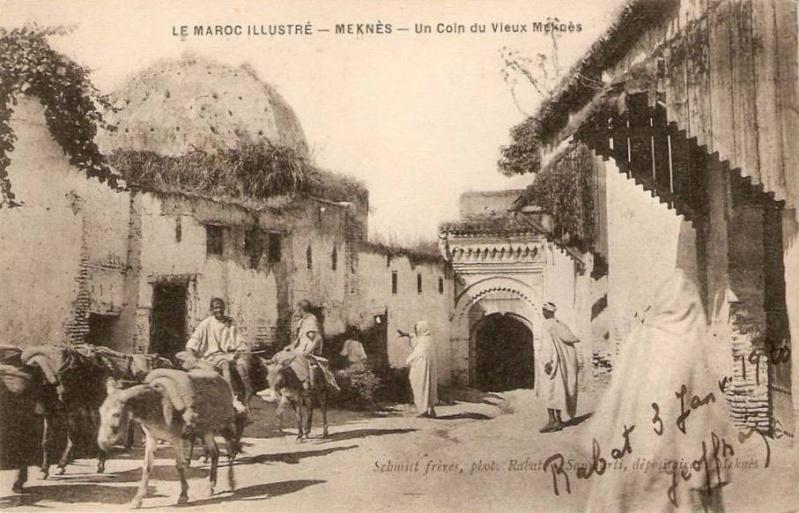 Meknès, La Ville Ancienne et les 2 Mellahs 2 666_0010