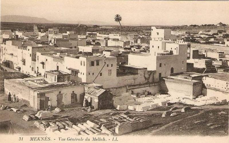 Meknès, La Ville Ancienne et les 2 Mellahs 2 V_a_410