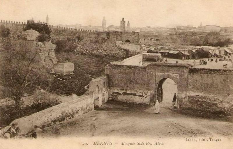 Meknès, La Ville Ancienne et les 2 Mellahs 2 V_a_511