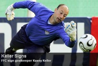Seattle Sounders FC to sign new player tomorrow.... Keller10