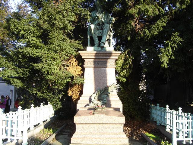 La tombe de Zénobe Gramme Paris-11