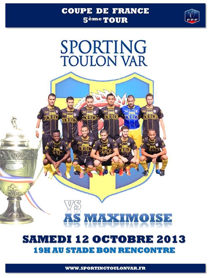 STV- l'AS Maximoise cinquième tour de coupe de France 13857310