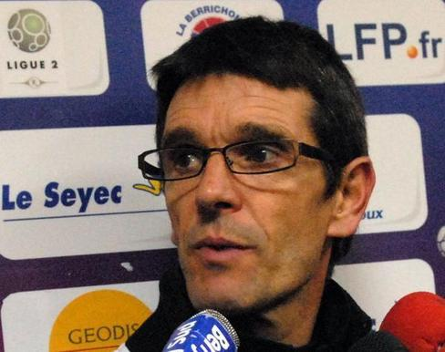 Jean-Louis Garcia nommé coach de Châteauroux Garcia10