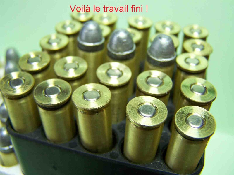 Comment faire des étuis de 8/92 a partir de 223 remington 1011