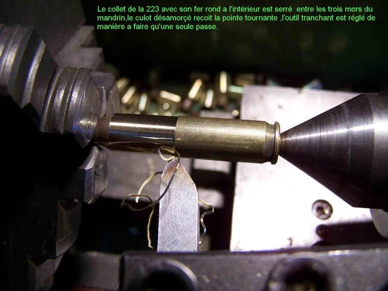 Comment faire des étuis de 8/92 a partir de 223 remington 211