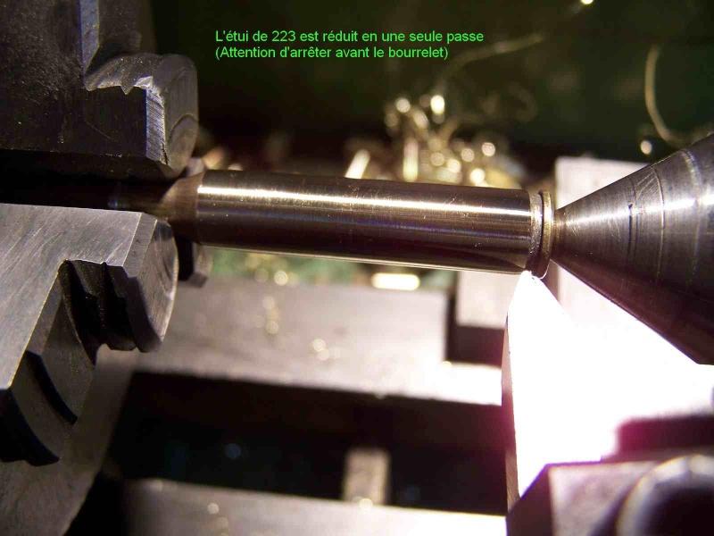 Comment faire des étuis de 8/92 a partir de 223 remington 311