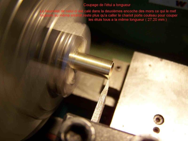 Comment faire des étuis de 8/92 a partir de 223 remington 611