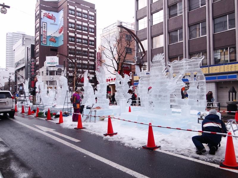 Le yuki matsuri à Sapporo Dsc06611