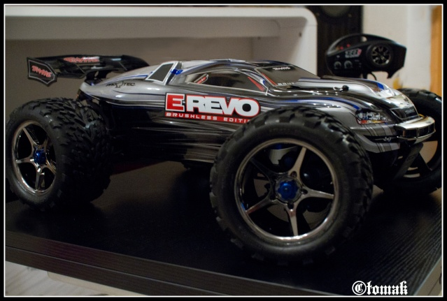 E-REVO Brushless Edition Lipo power 6s Img_9712