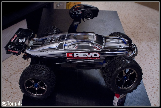 E-REVO Brushless Edition Lipo power 6s Img_9713