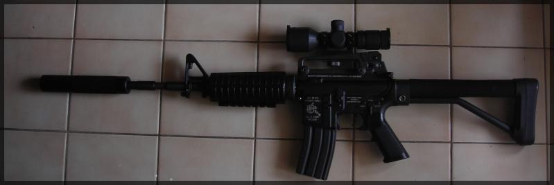 [Vente]CUSTOM SUR BASE M4A1 JG Dscn1416