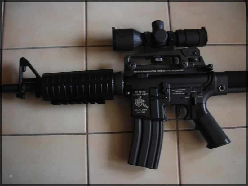 [Vente]CUSTOM SUR BASE M4A1 JG Dscn1417