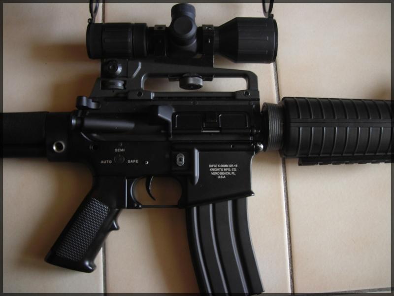 [Vente]CUSTOM SUR BASE M4A1 JG Dscn1418