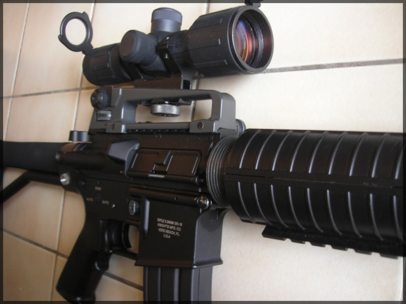 [Vente]CUSTOM SUR BASE M4A1 JG Dscn1422