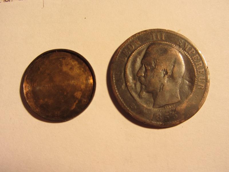5 Francs - Louis XVIII - 1817  K - Boite de Forçat 2013_010