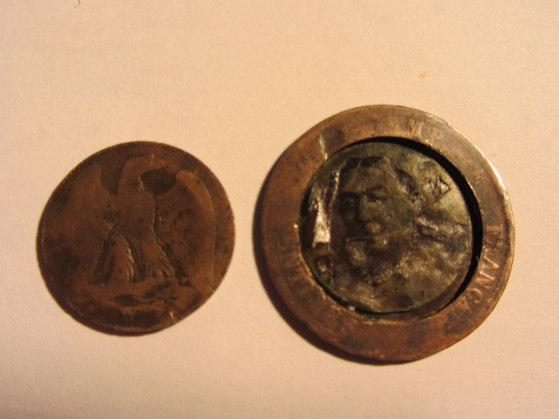 5 Francs - Louis XVIII - 1817  K - Boite de Forçat 2013_011