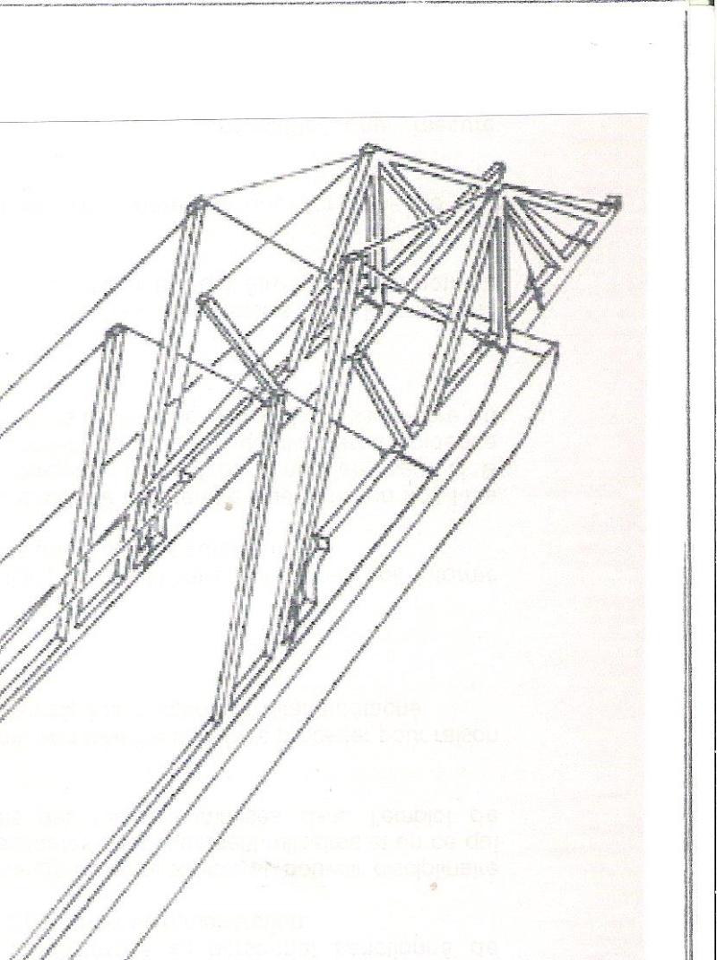 Construction d'un bateau à roue à aube : le Mississippi 1870 00212