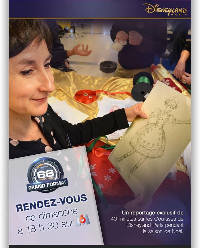 """""""Les coulisses de Disneyland Paris"""" dans 66 Minutes sur M6 le 8/12/2013 à 18h30 Image11"""