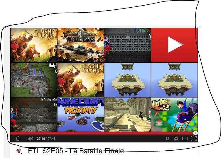 Youtube, comment inclure une vidéo miniature  Sugg10