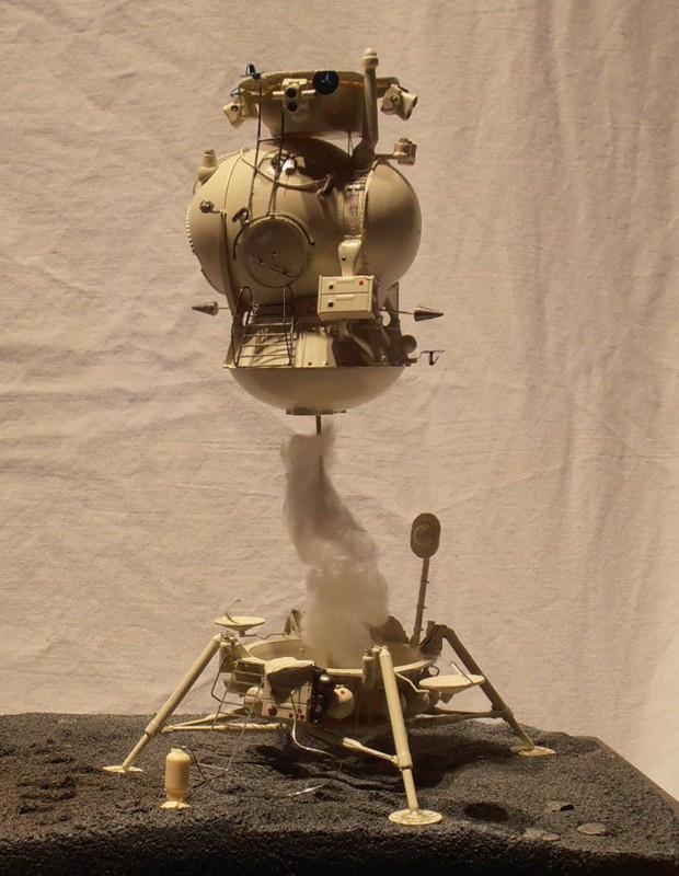Un nouveau module lunaire sovietique -LK- au 1/48 chez fantastic-plastic 25cc11