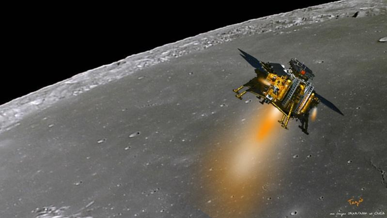 [Mission] Sonde Lunaire CE-3 (Alunissage & Rover) - Page 5 Landin10