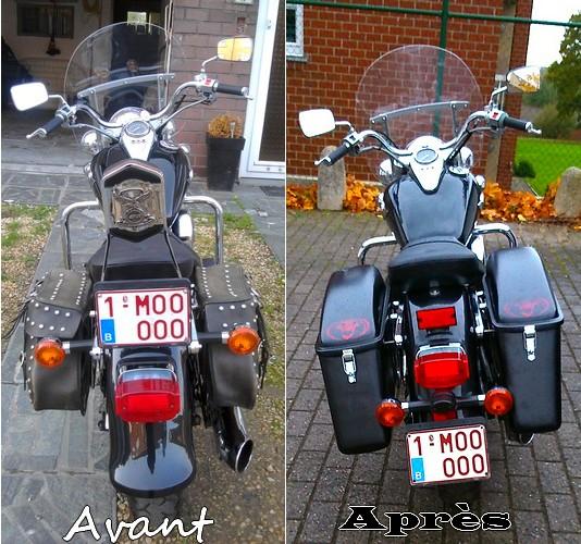 800 VN Changement de Look de ma moto  Avant_10