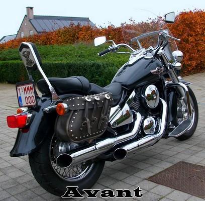 800 VN Changement de Look de ma moto  Avant_11