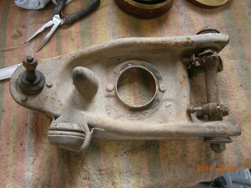 Restauration de la caravelle 1100S de juju - Page 2 P2090011