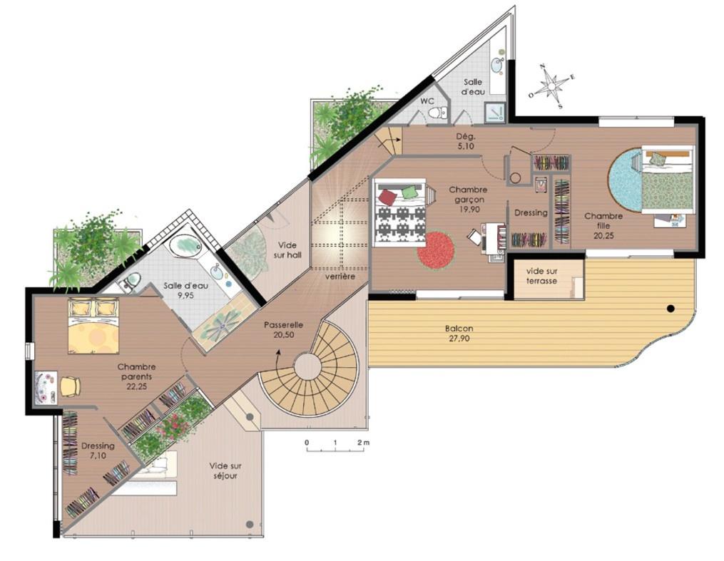 plan de la villa watts Ackles 99-eta10