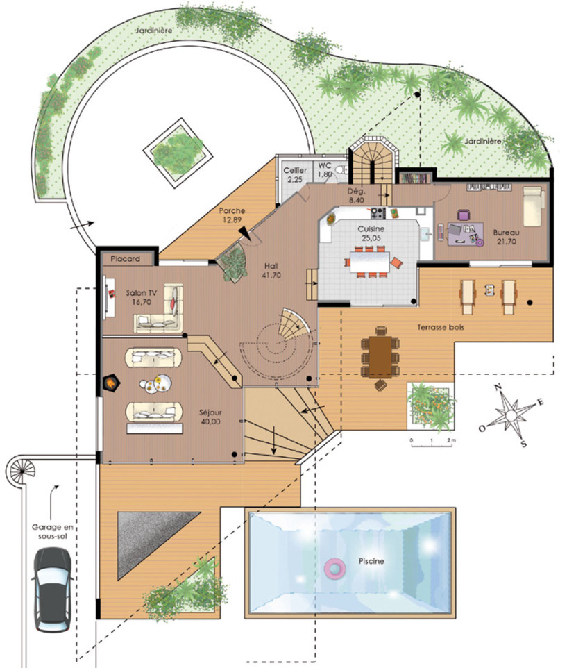 plan de la villa watts Ackles 99-rez10