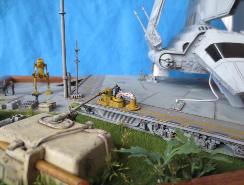 STAR WARS : Plateforme d'atterrissage pour Navette Lambda - Page 3 210