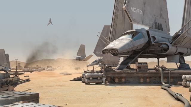 STAR WARS : Plateforme d'atterrissage pour Navette Lambda Starwa10