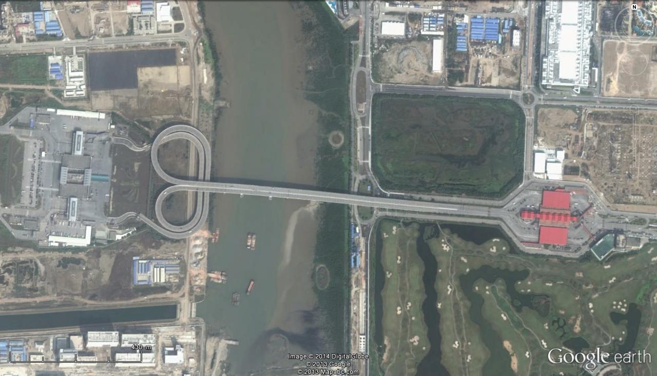 Pont Fleur de Lotus - Frontière Chine - Macao Pont10