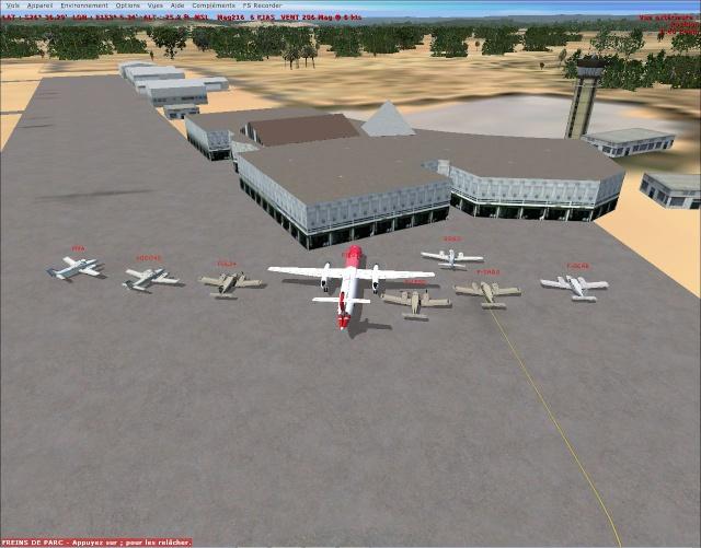 vol australie VFR Bundaberg à Brisbane Intls 2013-114