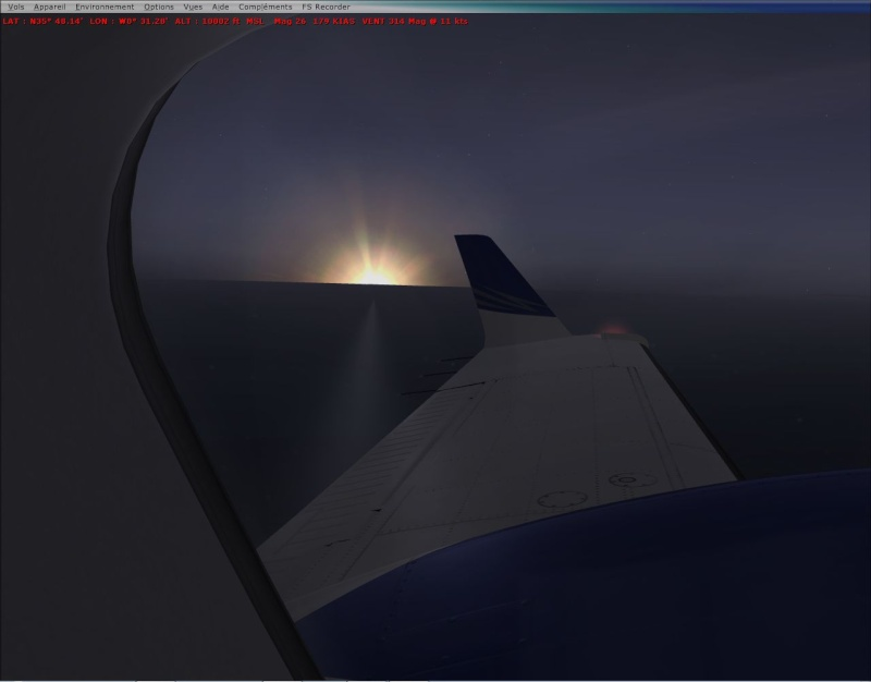 The First Flight Plan, Premier Plan de vol pour Shag 2014-440