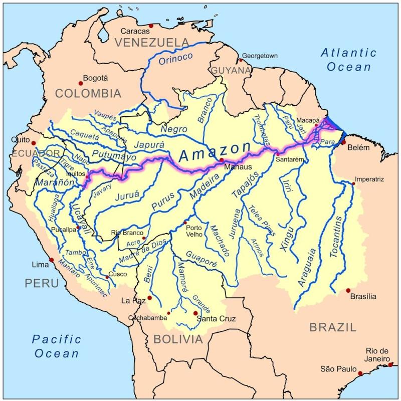 périple descente du fleuve Amazon  Amazon11