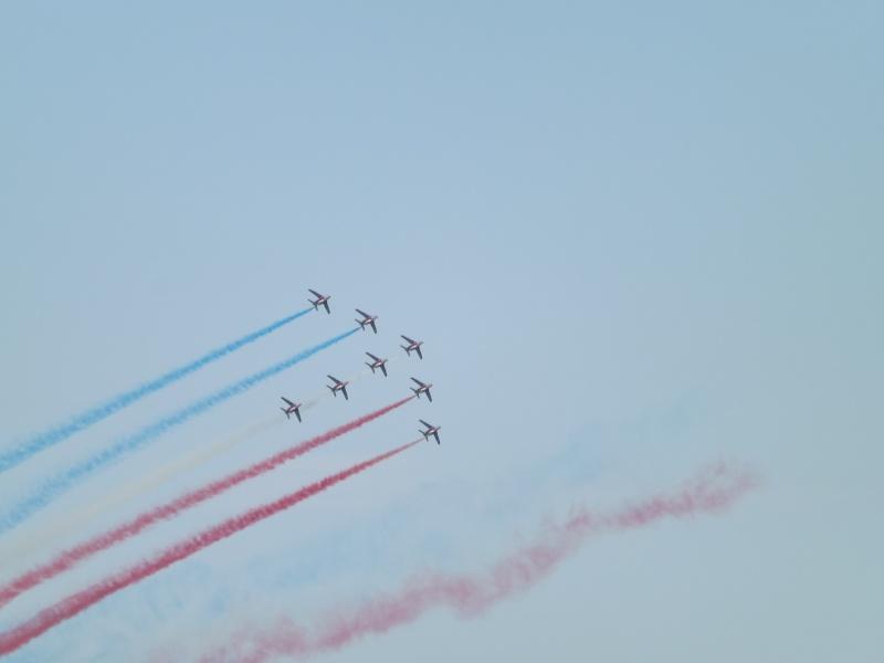patrouille de France dans le ciel de Toulon en 2013 aout Patrou12