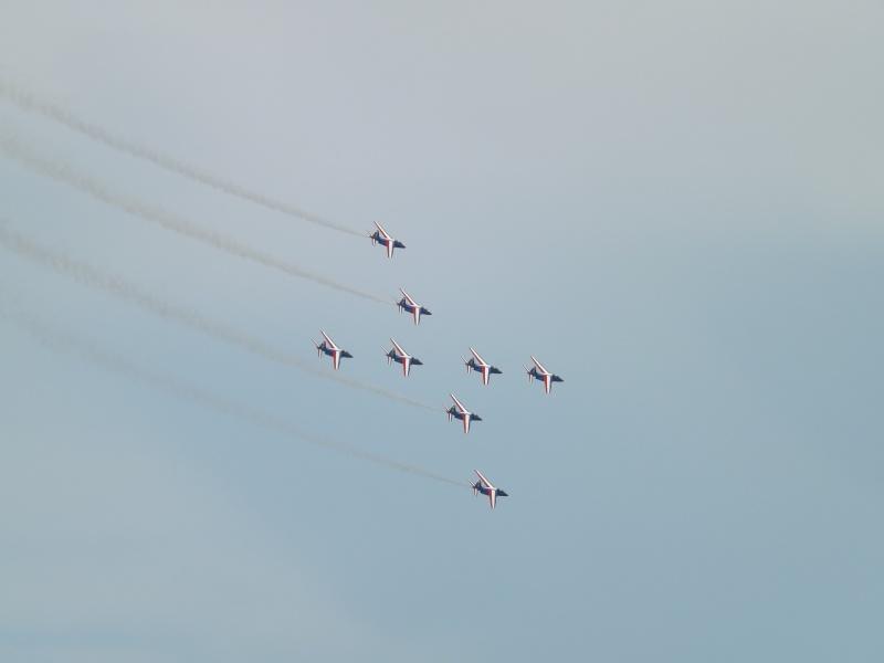 patrouille de France dans le ciel de Toulon en 2013 aout Patrou14