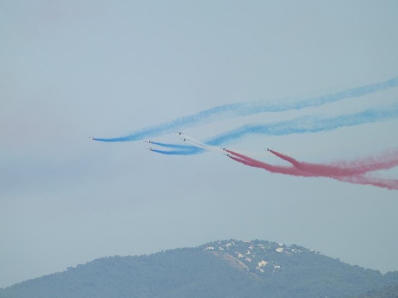 patrouille de France dans le ciel de Toulon en 2013 aout Patrou15