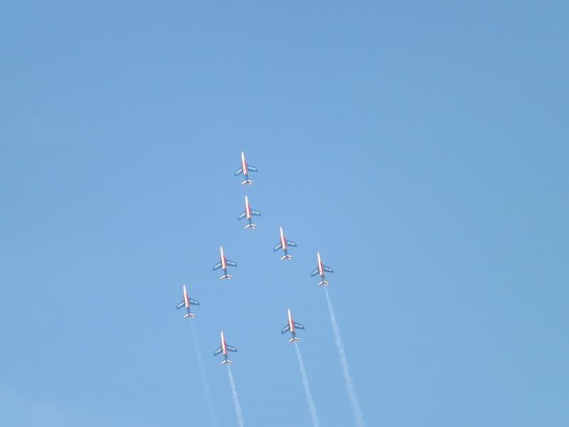patrouille de France dans le ciel de Toulon en 2013 aout Patrou17