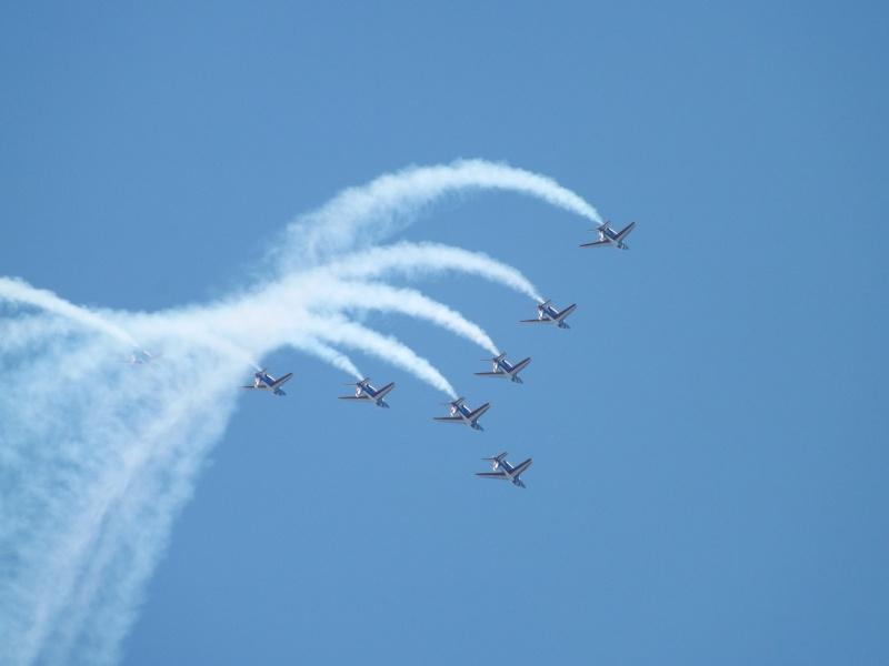 patrouille de France dans le ciel de Toulon en 2013 aout Patrou18