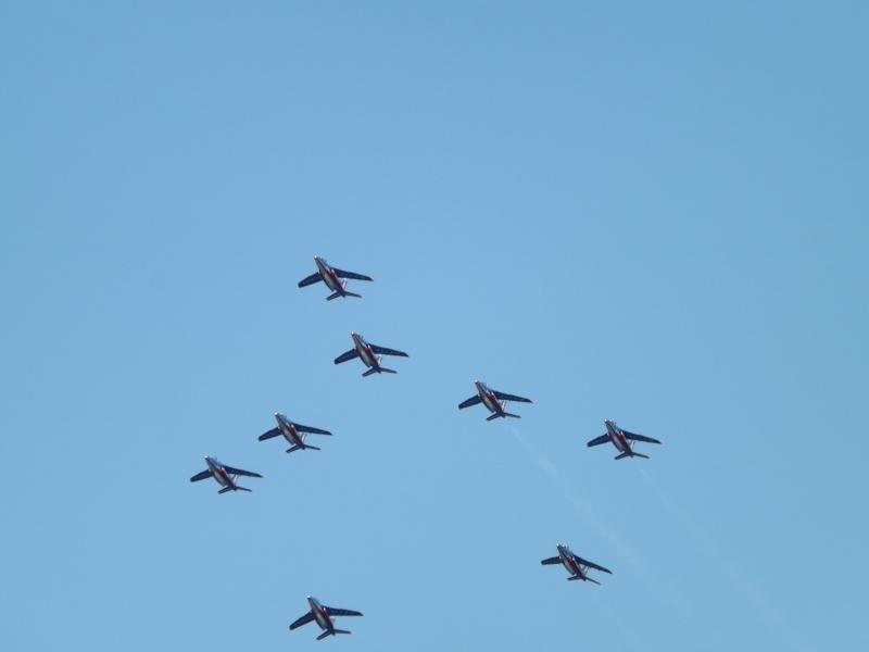 patrouille de France dans le ciel de Toulon en 2013 aout Patrou19