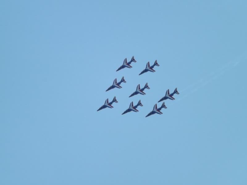 patrouille de France dans le ciel de Toulon en 2013 aout Patrou20